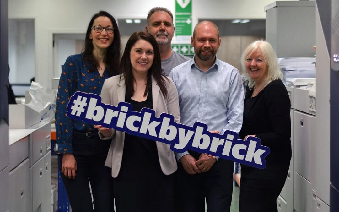Donation to Brick by Brick appeal by Aberdeen group